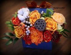 Flower by Carmen Belcin    My new hot hat box