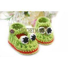 Zapatitos Tejidos Crochet Animalitos Para Niño O Niña Dpa