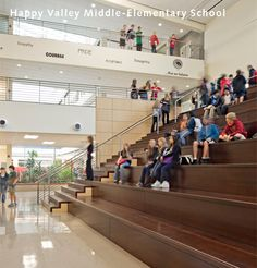 Happy Valley Middle-Elementary School. Boora Architects