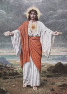 Act of Consecration to the Sacred Heart of Jesus The Heart of Jesus Invites Us All to Him. Jesus Our Savior, Jesus Art, Heart Of Jesus, Jesus Is Lord, Catholic Art, Religious Art, Jesus E Maria, Pictures Of Jesus Christ, Jesus Painting