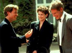 Greg Kinnear, Julia Ormand, and Harrison Ford in Sabrina