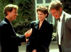 Sabrina - 1995 - I am generally against remakes.  This one got it right, again - perfect casting: Greg Kinnear, Julia Ormond, and Harrison Ford in Sabrina