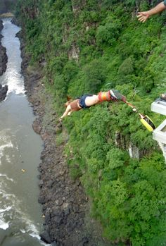 bungee jumping-victoria falls - Explore the World with Travel Nerd Nici, one Country at a Time. http://TravelNerdNici.com