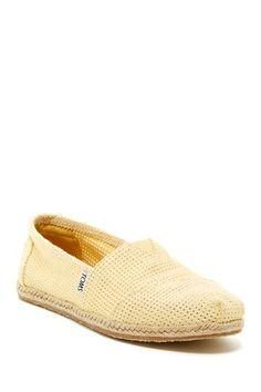 Freetown Espadrille Slip-On Shoe by TOMS on @HauteLook