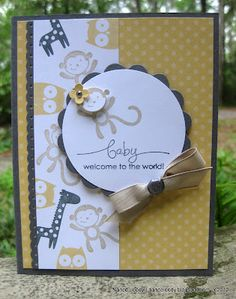 Fox and Friends - Stampin' Up