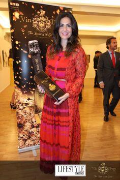II Premios 10 Lifestyle - Nuria Roca Sari, Fashion, Door Prizes, Saree, Moda, La Mode, Fasion, Fashion Models, Saris