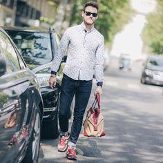 Vu ! Kevin Ragonneau en Almare ! #blogueur #streetstyle #almare