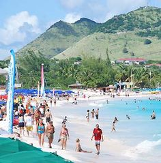 The French side (St. Martin), is certainly relaxed and sophisticated. Marigot is Mediterranean resort-like, yachts in the harbor,  open-air markets, shops lining the waterfront. Grand Case is known for the island's best restaurants.         The Dutch side (Sint Maarten) is a lively destination of white sand beaches, casinos, historical sites, shopping venues and a lot of nightlife. Philipsburg, a duty free port, vibrates with Caribbean colors, sounds and cruise ship passengers.