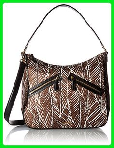 Vera Bradley Vivian Hobo Bag, Banana Leaves Brown - Shoulder bags (*Amazon Partner-Link)
