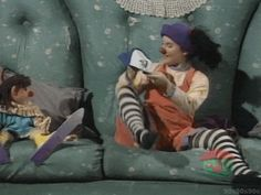 The Big Comfy Couch! Remember when you would stuff your couch with toys and then pull them out?