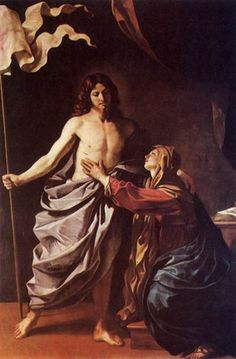 View The Risen Christ appears to the Virgin by Guercino on artnet. Browse upcoming and past auction lots by Guercino. Noli Me Tangere, The Risen, Christ Is Risen, Baroque Painting, Baroque Art, Italian Baroque, Catholic Art, Religious Art, La Passion Du Christ