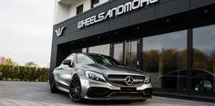 Individualisierte F.I.W.E. Felgen in 10,0 und 12,0x20 mit 255/30/20 und 305/25/20 für Mercedes W205 C63AMG Coupe Mercedes C63 Amg, C 63 Amg, Bmw