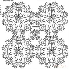 Off White Cotton Lace Fabric Charming Floral Flowers Fabric for Bridal, Girl Dress, Wedding Gowns, H Crochet Snowflake Pattern, Crochet Baby Dress Pattern, Crochet Motif Patterns, Granny Square Crochet Pattern, Crochet Diagram, Crochet Squares, Crochet Cushion Cover, Crochet Cushions, Crochet Tablecloth