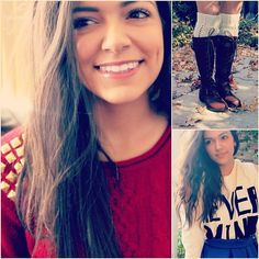 Newest video on Macbarbie07! Renovate your sweaters for the holidays ???????????? #HoliDiY #DIY - @Bethany Shoda Noel-