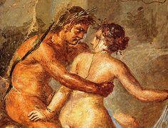 Amantes, Casa de los Epigramas, Pompeya