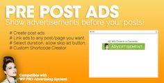 how to add advertising to extra wordpress theme