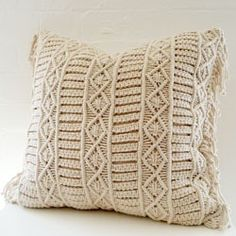 Pretty rope cushion.