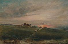 Stonehenge at Sunset by John Constable 1836 (@YaleBritishArt).  Dr Liv Gibbs (@DrLivGibbs)   Twitter