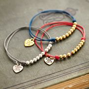 Friendship bracelets for bridemaids. super cute