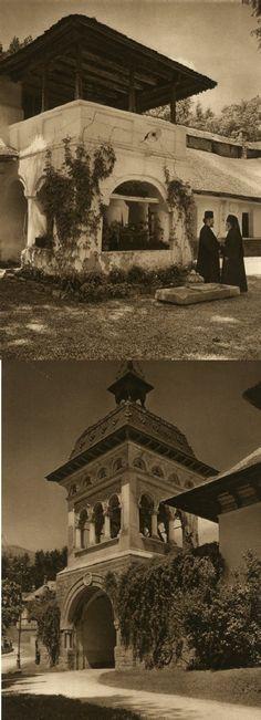 Mirifica Romanie in Alb Si Negru - 1933 Interwar Period, Semper Fidelis, Old Pictures, First World, Places To Visit, Exterior, House Design, Country, Renaissance