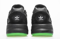 finest selection 41ab2 b5bba Adidas Falcon W YUNG-2 Black Green BB9179 Sneaker 5 Sneaker, Sneakers,  Plimsoll