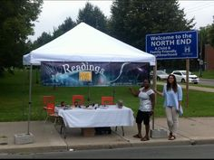PEAK Prophetic booth at Open Streets Hamilton Ontario July 13 2014