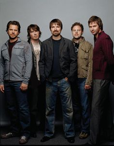 : Third Day :  Best band EVER!! :) Hopefully one day when my son grows up the Lord will show him how His Rock is the only one that will stand.  Not the world's rock music.
