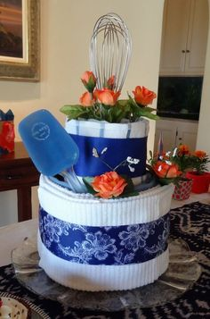 <3 this! what a great kitchen shower/wedding shower gift idea!: