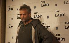 """Luc Besson al red carpet del suo film """"the lady""""  http://bigodino.it/spettacolo/red-carpet-the-lady.html"""