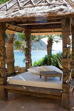 Amante, Sol den Serra, Ibiza- LOVE THIS OUTDOOR BED!