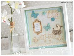 It´s a boy! Scrapbooking, Boys, Frame, Cards, Design, Home Decor, Baby Boys, Picture Frame, Decoration Home