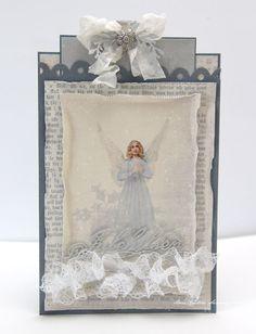 Christmas Card using Pion Design - Glistening Season collection