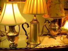 These lamps are darling  - Christmas gift for Cailtin??