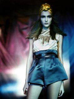 Snejana Onopka photographed by Paolo Roversi - Vogue Italia: March 2007 - Pictorial Clicks