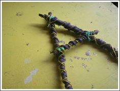 Kids Craft Weekly -  Alphabet crafts - my favorite is the stick letter craft!