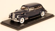 I had this model.  Esval Models: 1942 Packard 180 7-passenger Limousine- Dark Blue (EMUSPA43000000002A) in 1:43 scale
