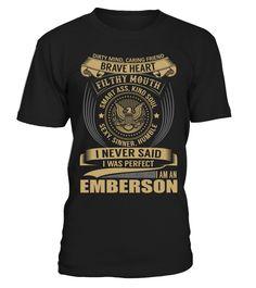 EMBERSON - I Nerver Said