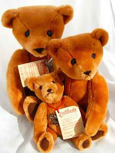 Althans Germany Teddy Bear Ultra Soft Plush Toys 11in-19in Handmade Jointed LE  #Althans