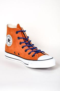 #Converse - CT All Star Hi Suede Rust #shoes