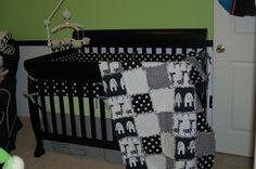 baby rag quilt  Sunday, October 9, 2011