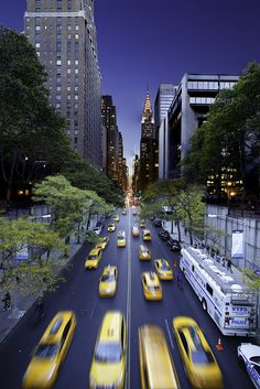 All sizes | Tudor City Overpass, Day into Night | Flickr - Photo Sharing!