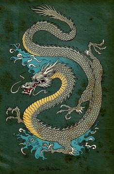Resultado de imagem para japan dragon