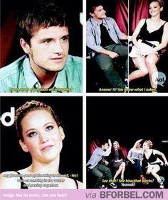 Jennifer Lawrence And Josh Hutcherson Have The Best Friendship Ever…