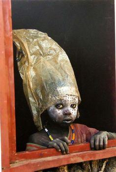 Ethiopian child , Africa