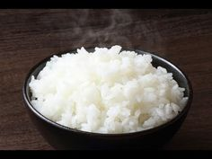 How to Cook Sticky Rice. Delicious sticky rice which can be served with any japanese cuisine. Also can be used to make sticky rice with mangoes or sushi. Cooking Sushi Rice, Sushi Rice Recipes, Sticky Rice Recipes, Sticky White Rice Recipe, Steam Rice Recipe, Japanese Sticky Rice, Japanese Food, Chinese Shrimp Fried Rice, Sauce For Rice
