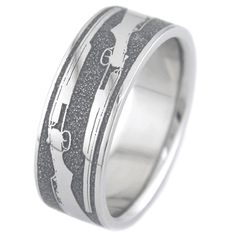 The Shotgun Wedding Ring, Outdoor Rings - Titanium-Buzz.com