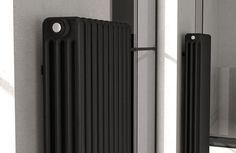 Radiador de agua caliente / vertical / de chapa de acero / de pared - TESI 4 - IRSAP