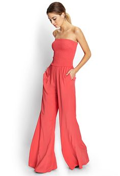 Retro Doll Flared Jumpsuit | FOREVER21 - 2000071635