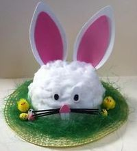 Have some Easter crafty fun with our tried and tested Egg Decorating and Easter Bonnet Ideas! Easter Bonnets For Boys, Easter Crafts For Kids, Bunny Crafts, Boys Easter Hat, Easter Projects, Easter Hat Parade, Crazy Hats, Diy Ostern, Easter Activities