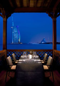 Madinat Jumeirah Dubai Restaurants Pierchic Seafood Dining Designed By Creative Kingdom Inc
